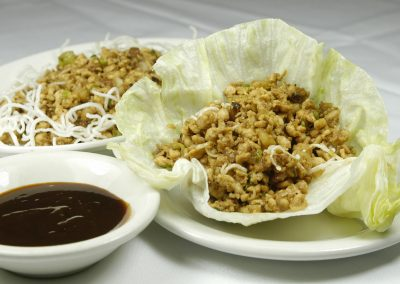 Chicken Lettuce Wrap